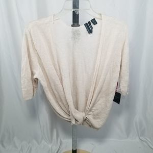 Cynthia Rowley Light Top Cardigan Sz Large